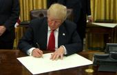 特朗普政令美国退出TPP
