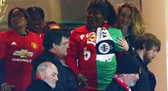 欧联杯-曼联3-0 母亲观战博格巴兄弟