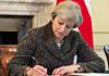 英国首相签署信函 正式启动脱欧程序