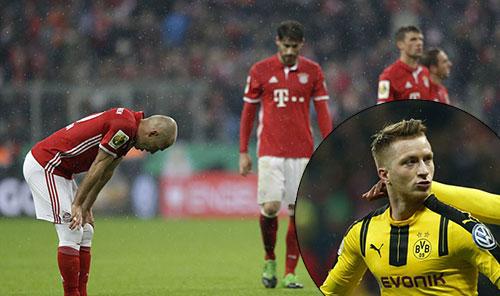 德国杯-两铁卫破门难救主 拜仁2-3多特无缘决赛