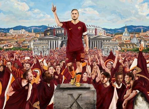 罗马就是托蒂的信仰