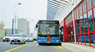 BRT快速公交空载试运行 沿线楼盘业主乐了