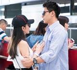 李冰冰与男友现身机场