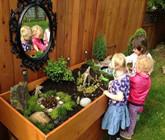 幼儿园植物角的创意互动