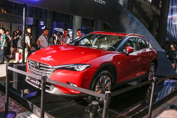 新款马自达CX-4正式上市 售价14.08-21.58万元