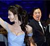 林志玲与父亲共舞