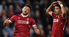 联赛杯-利物浦0-2出局 张伯伦郁闷