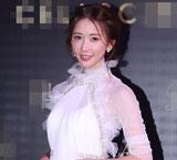林志玲穿薄纱透视裙优雅