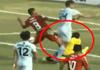 传奇门将比赛中与队友相撞后死亡