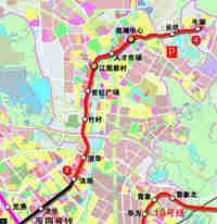 又一条地铁2020年通车 沿线楼盘或将受益