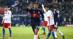 德甲-拜仁1-0 托利索破门