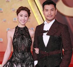 TVB50周年台庆会胡定欣黑裙现身