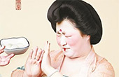 """""""唐朝仕女""""吃汤圆组图走红"""