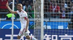 德甲-拜仁3-0 穆勒指天怒吼庆进球