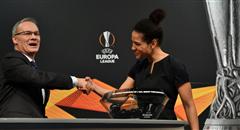 欧联1/16决赛抽签 德女足传奇登台亮相