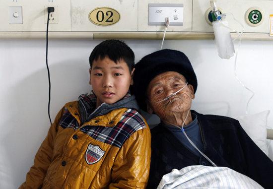 浙江父子年龄相差71岁 孩子在校拒谈父母(图)
